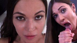 Alyssa Reece Begs For Cum – BLOWJOB | POV | DEEP CREAMPIE | SCREAMING ORGASM | DIRTY TALK