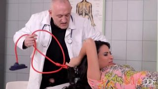 Beautiful French Girl Fucked good in Clinic