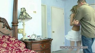 British blonde Holly Wellin is getting pounded