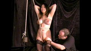 Cruel Asian Pussy Bondage and f. Orgasm