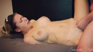 Horny Dad fucks daughter but she thinks it is her boy friend