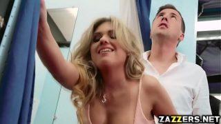 Jessy Jones drills Aubrey Addams anal on top