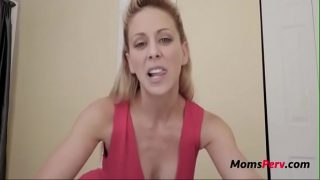 MILF wants son's cum to get pregnant! f.