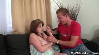 Old m. in law f. into taboo sex
