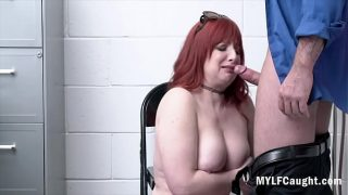 Redhead MILF Steals And Gets f. Fucked By Cop- Amber Dawn