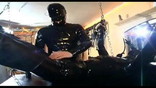 Sexy slave h. and waiting for something to blow