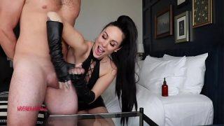 Slave Gets f. Handjob
