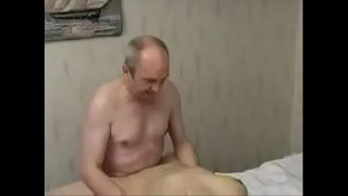 The old doctor makes the young girl to sex with him