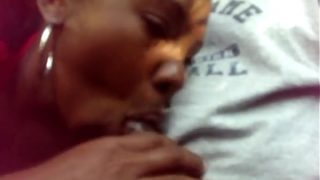 WOULD U LET ME SUCK IT DADDY IF I SWALLOWED YOUR CUM???? BLACK TEEN TRYING TO GET HIM TO CUM SO SHE CAN SHOW HIM WHAT IT FEELS LIKE TO BE SWALLOWED